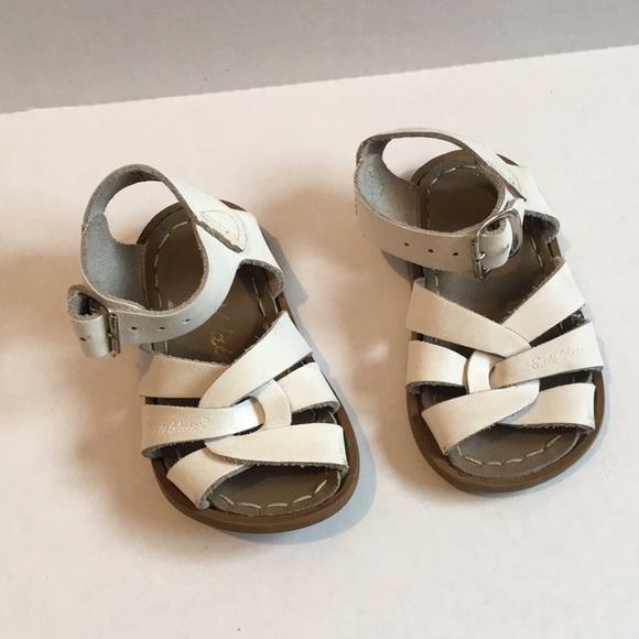 d7608467238d Toddler Saltwater Salt Water Sandals White. M 5c7afa9103087c02ed72a3aa